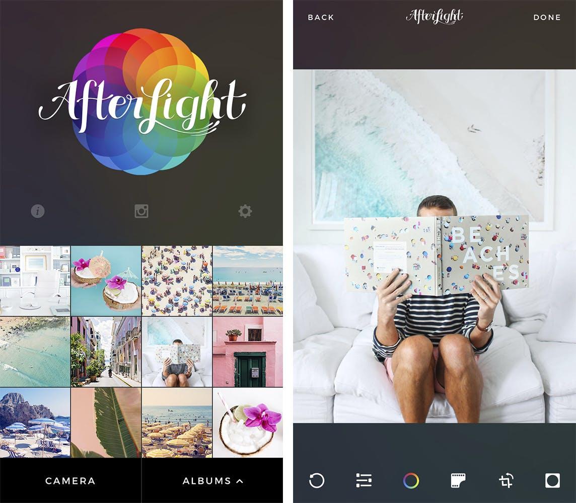 Gray Malin's Favorite iPhone Editing Apps - Afterlight | GrayMalin.com