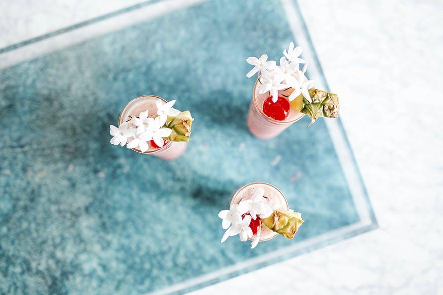 Pink Flamingo Guava Flow Cocktail | Recipe on GrayMalin.com
